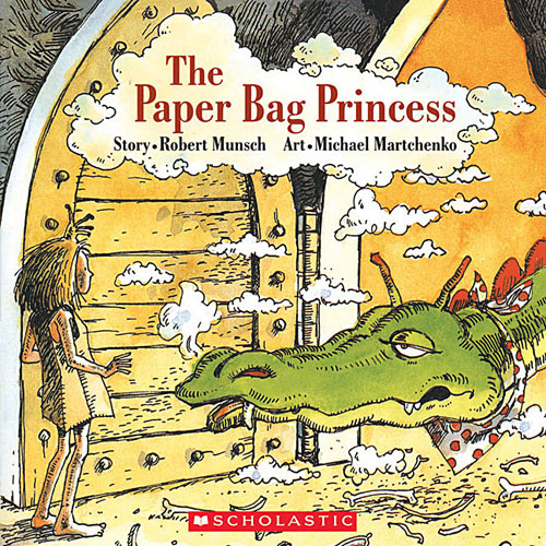 Paper Bag Princess Book Cover : Teach your children well english language units